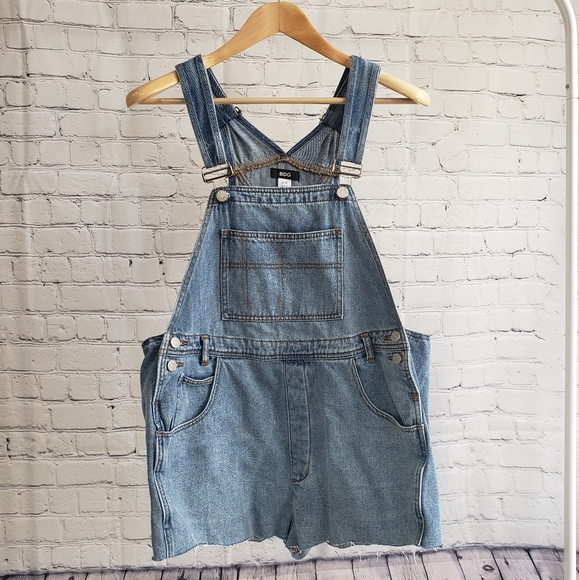 BDG Jeans Overalls Shorts Urban Outfitters Large